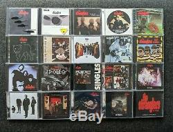 The Stranglers Ultimate Collection Audio Video Lot 58 CD's, 5 DVD's & 1 Cassette