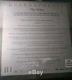 The Who Quadrophenia The Director's Cut Super Deluxe Limited Edition Box Set New