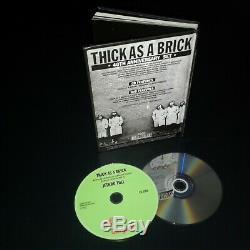 Thick as a Brick Jethro Tull 40th anniversary box 1 CD+1 DVD-A (remix)