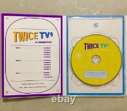 Twice Tv 6 Singapore DVD New Album 3 Discs Photo Book 8p Post Cards
