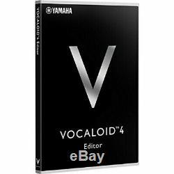 VOCALOID4 Editor 4513744067667 audio music software YAMAHA V4EDITORSTDJP