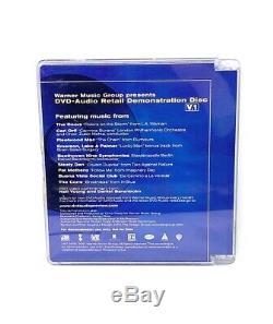 Warner Music Group Presents DVD-Audio V. 1 Retail Demo Disc Doors Mac ELP & More