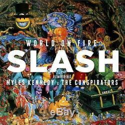 World On Fire Edizione Deluxe Slash Universal Music CD Giappone Nuovo F/S