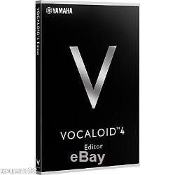 YAMAHA VOCALOID4 Editor Vocaloid 4 DVD PC Software Windows Mac Japan NEW