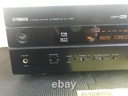 Yamaha AV Receiver RX-V630 Natural Sound Home Theater Tested. Bass music dvd