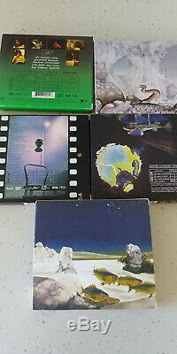 Yes Steven Wilson CD/DVD-Audio 5 Album Set